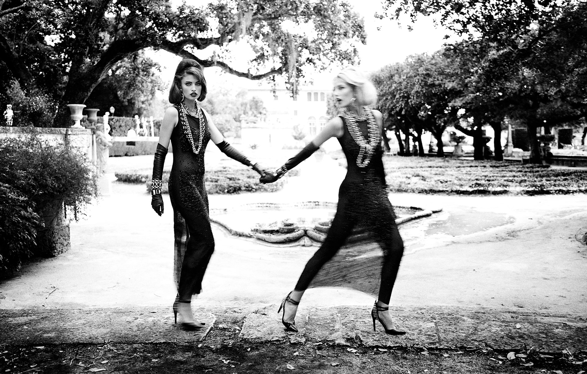 2 девушки во французском замке / фото 07