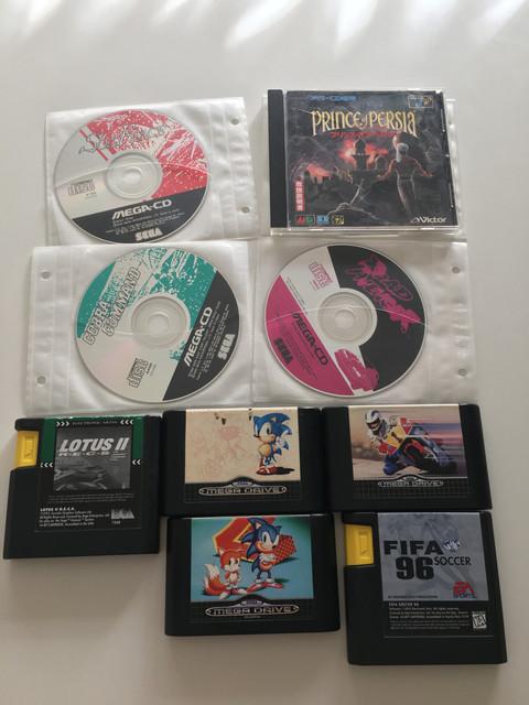 [Vendu] Sega MegaCD 2 Region Free + Megadrive 2 Region Free switchless + Jeux 5-B60-D984-5636-449-A-AA63-A893-C2-E49792