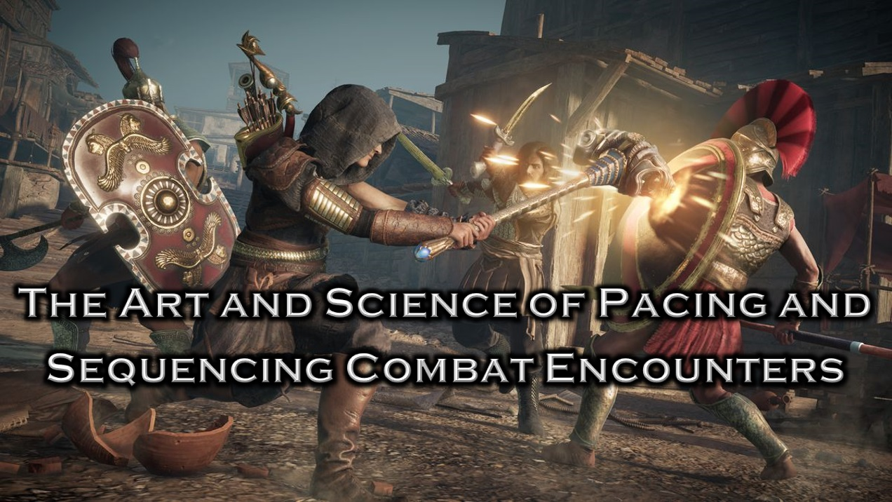 The Art & Science of Pacing and Sequencing Combat Encounters Icon