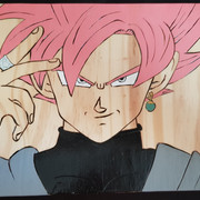 De quoi décorer vos salles de jeux Black-Goku-Rose-A4