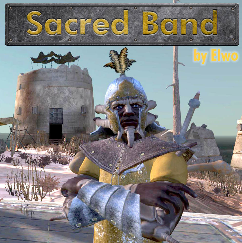 The Sacred Band (Faction/Armor/Weapons)