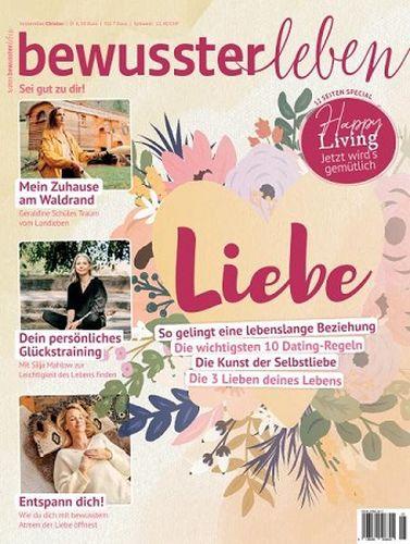 Cover: Bewusster Leben Magazin No 05 September-Oktober 2021