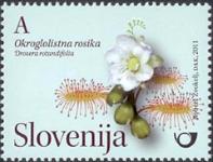 Slovenia stamps CVIJE-E-2011-A
