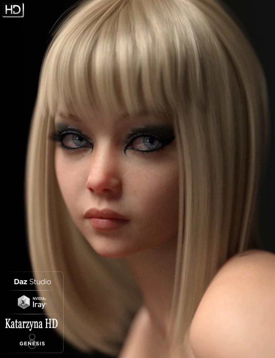 Katarzyna HD For Genesis 8 Female