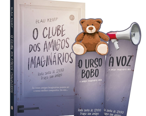 """@Verus_Editora lançará em setembro edição especial de """"O Clube dos Amigos Imaginários"""""""