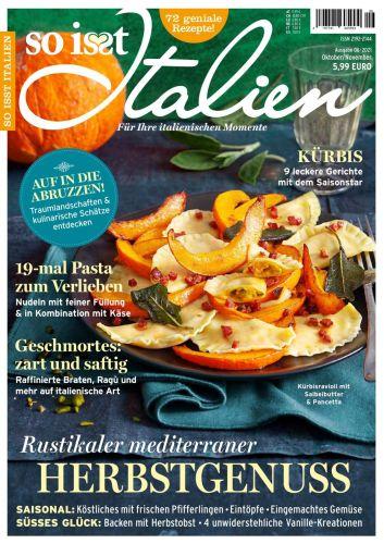 Cover: So isst Italien Kochmagazin No 06 Oktober-November 2021