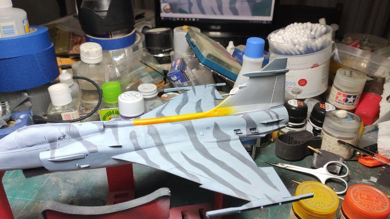 """MT: Jas-39C Gripen """"Wild Tiger"""" NTM 2017 Kitty Hawk 1/48 IMG-20200106-220847"""