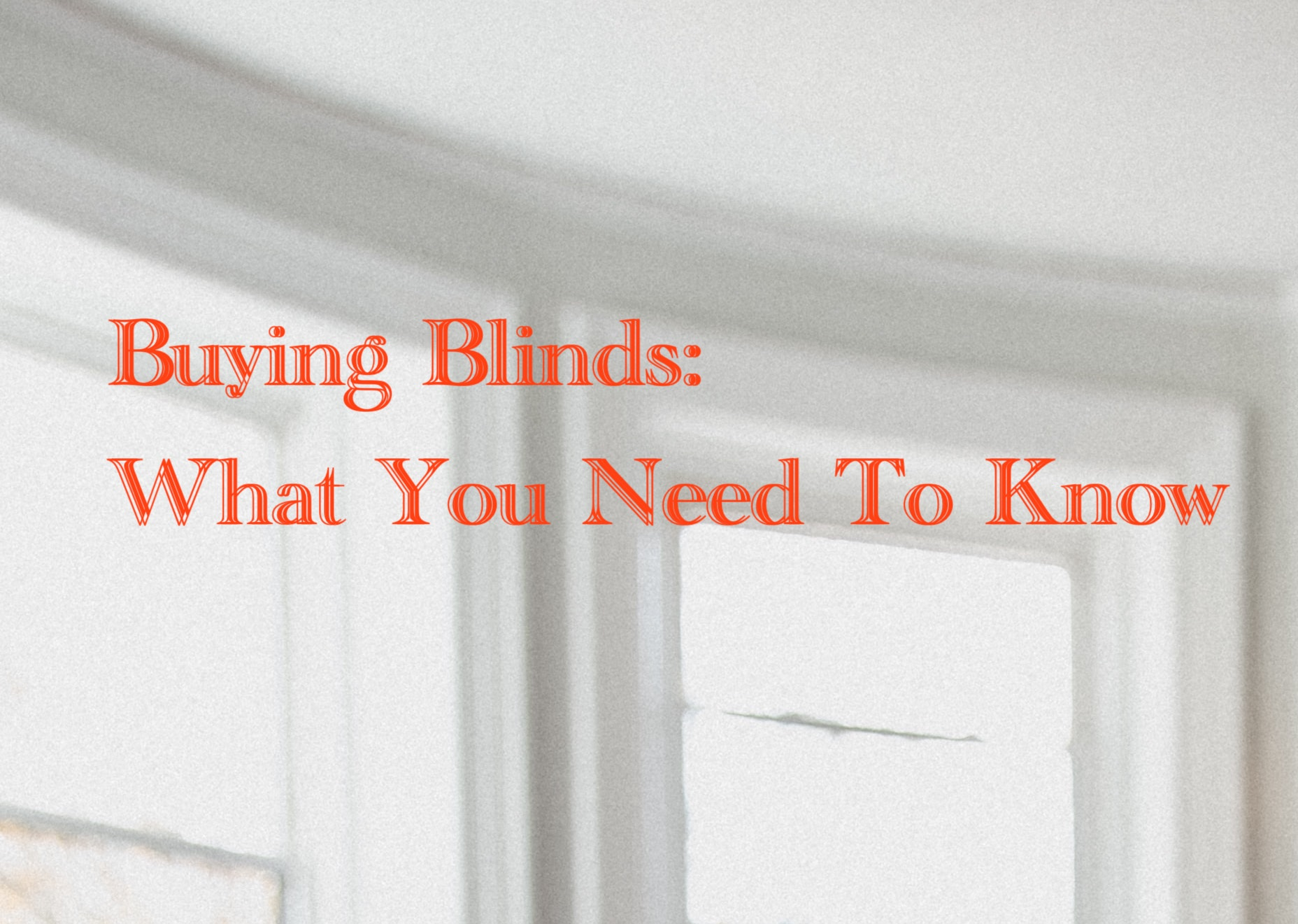 blinds cover image