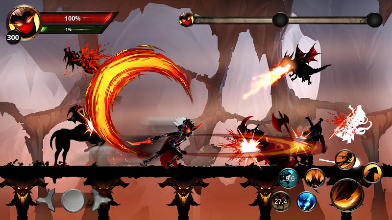 Stickman Legends: Shadow Of War Fighting Games (MOD, Free Shopping)