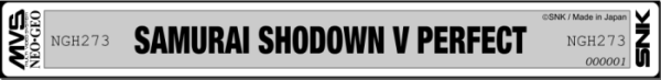 [Commandes]Samurai Shodown V Perfect - US MVS Kit NGH273