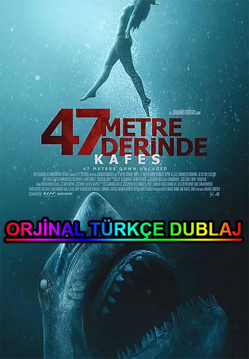 47 Metre Derinde: Kafes | 2020 | BDRip | XviD | Türkçe Dublaj | m720p - m1080p | BluRay | Dual | TR-EN | Tek Link
