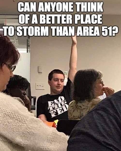 Area 51 Flashmob