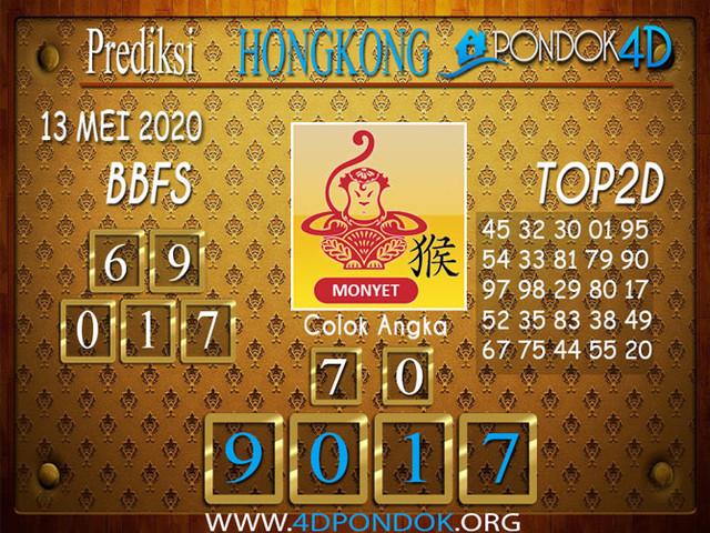 Prediksi Togel HONGKONG PONDOK4D 13 MEI 2020