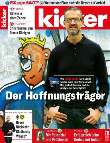Cover: Kicker Sportmagazin No 78 vom 27  September 2021