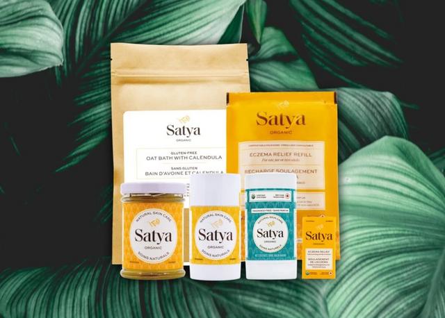 Satya Organic Natural Eczema Skincare available at Nourish Clean Beauty Hong Kong