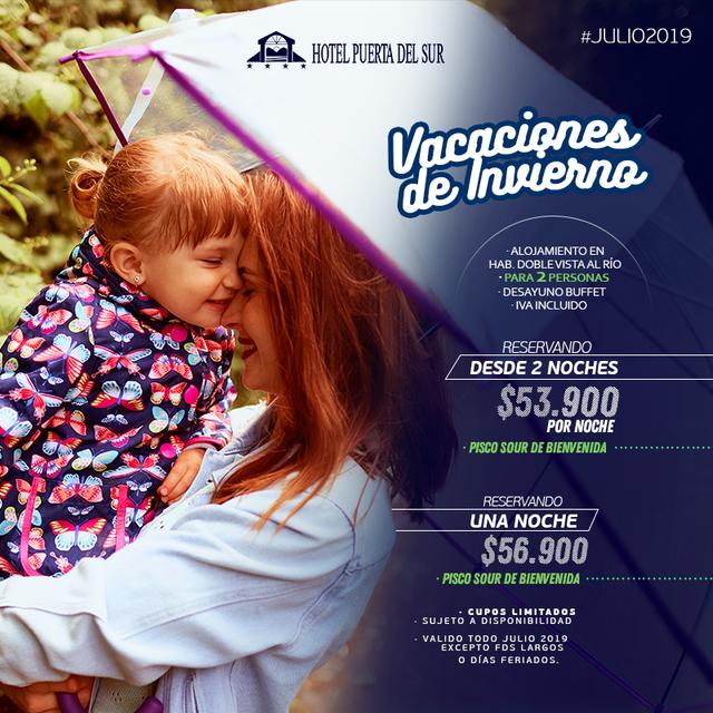 Promocion TODO JULIO 2019 Hotel Puerta del Sur