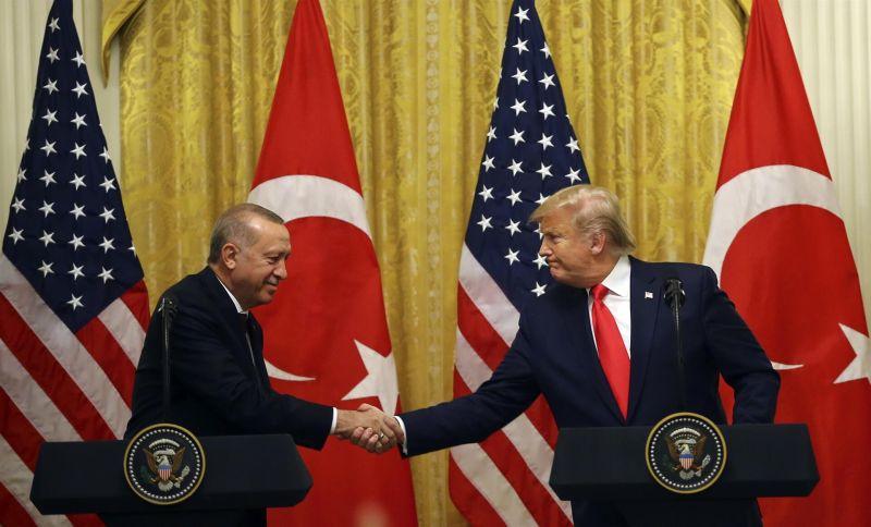 Р. Эрдоган и Д. Трамп
