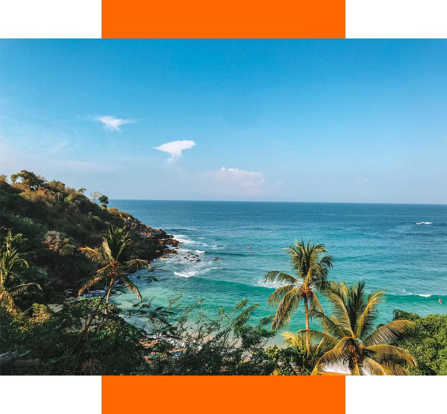 Puerto Escondido viajar seguro a la playa durante pandemia