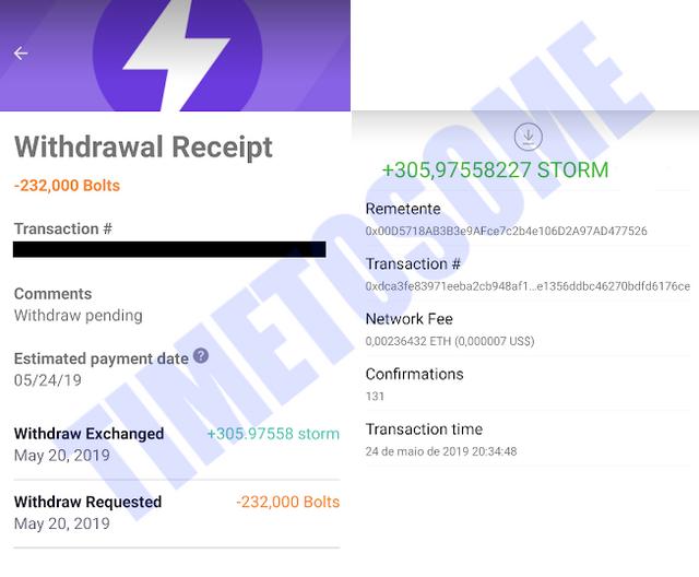 OPORTUNIDADE [Provado] Storm Play App - Criptomoedas Gratis - Android - Pagamento por Storm,Bitcoin,Ethereum (Actualizado em Julho de 2019) Laststorm11