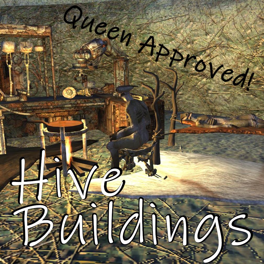Hive Buildings / Постройки Улья