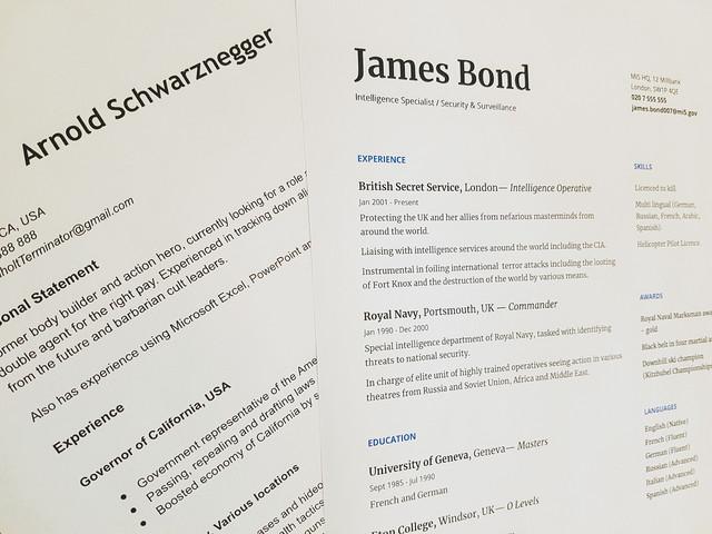 Benefits of a CV Creator