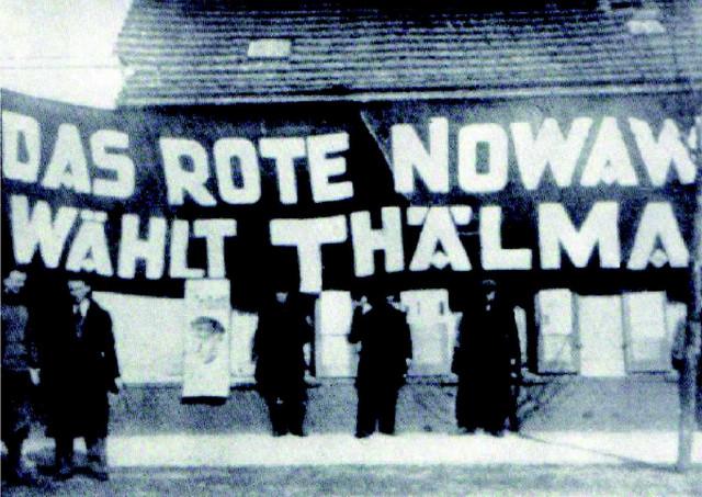 Das Rote Nowawes wählt Thäkmann
