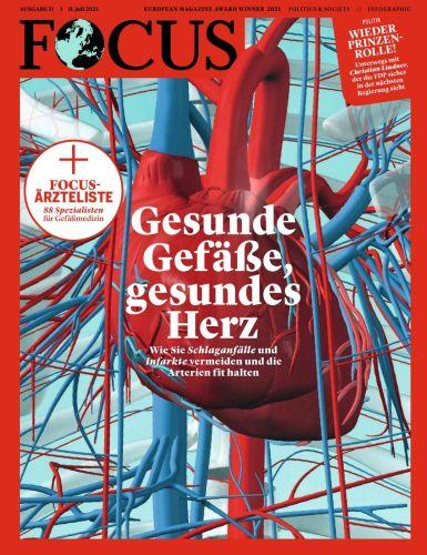 Cover: Focus Nachrichtenmagazin No 31 vom 31  Juli 2021