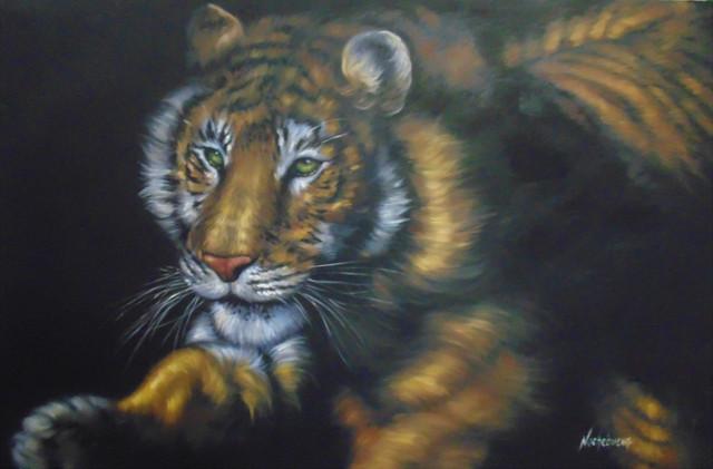 21-Tigre-Tecnica-Mixta