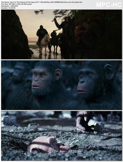 War For The Planet Of The Apes 2017 720p Blu Ray x264 999 MB Mkv Zone com Encoded mkv thumbs 2018 08