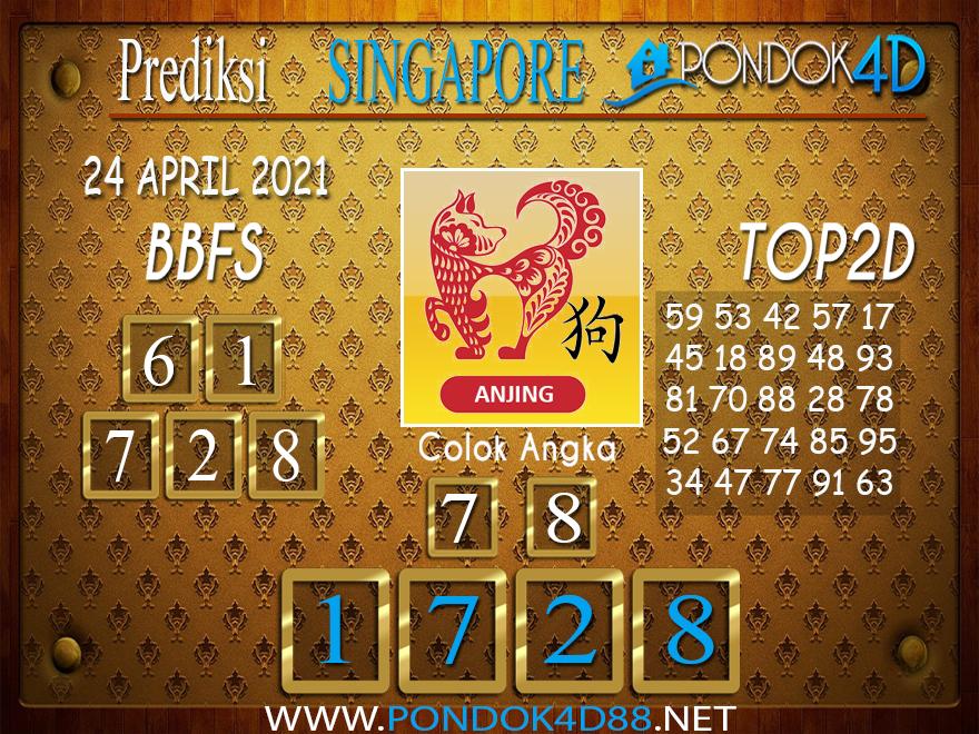 Prediksi Togel SINGAPORE PONDOK4D 24 APRIL 2021