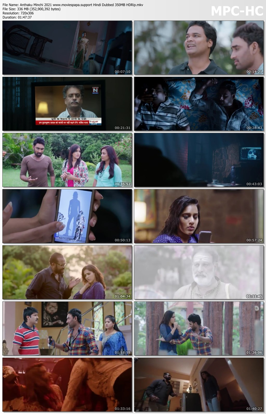 Anthaku Minchi bingtorrent Screen shots