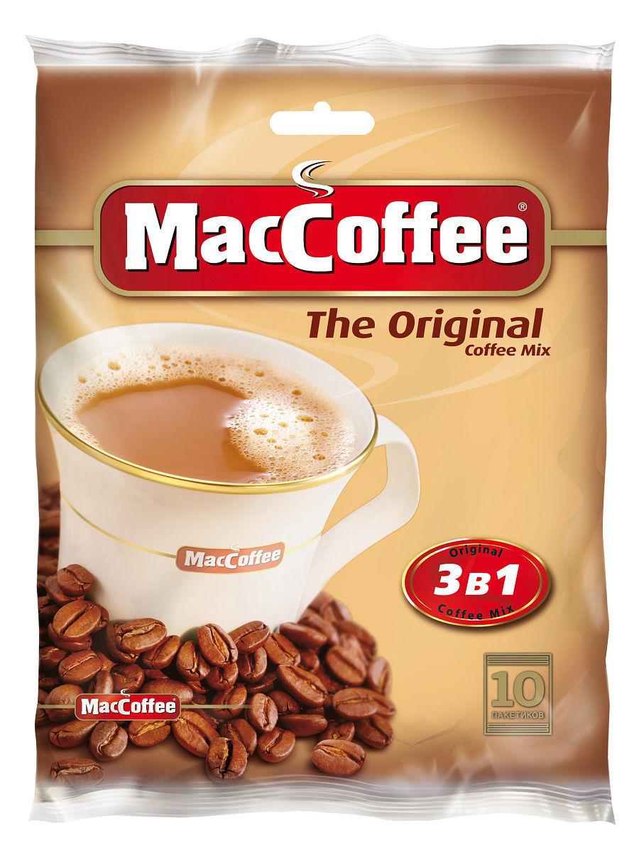 ყავა ერთჯერადი ორიგინალი 3/1 20გრ მაკკოფე