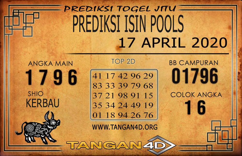 PREDIKSI TOGEL ISIN TANGAN4D 17 APRIL 2020