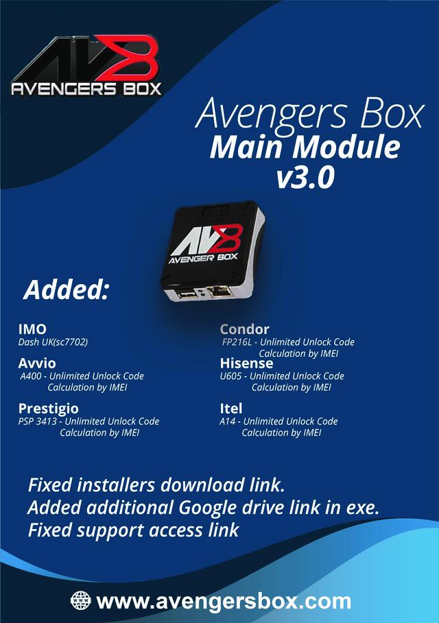 Avengers Box Main Module v3.0 Update Released - [06/02/2020]