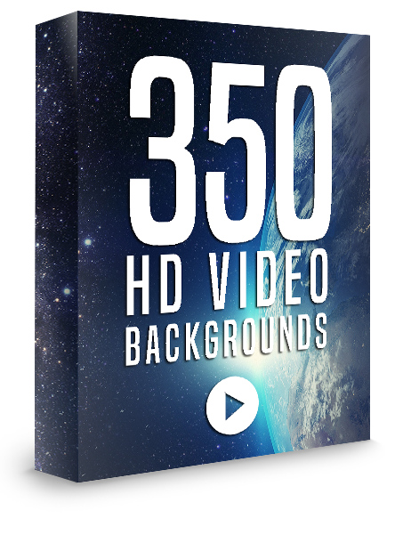 350+ HD Background Videos with Resell rights