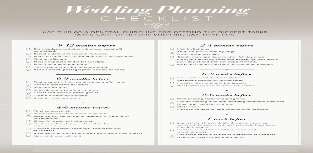 DEF Anniversary Wedding Planner Online