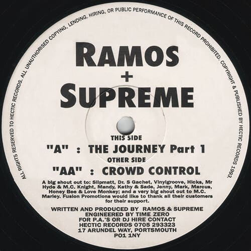 Download Ramos & Supreme - The Journey Part 1 / Crowd Control mp3