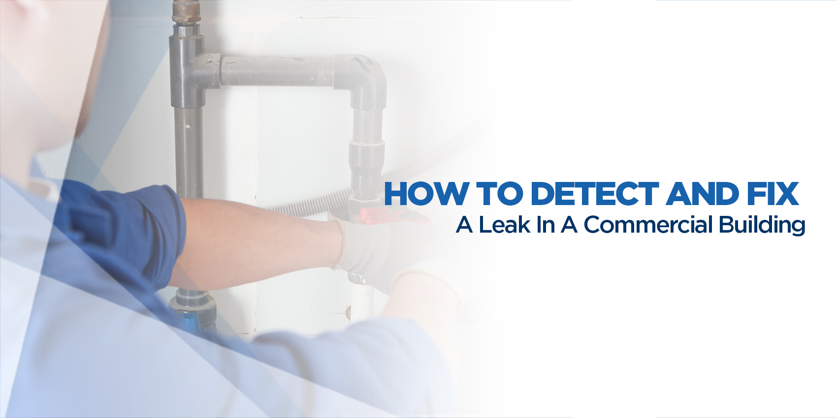 How to Detect and Fix a Leak in a Commercial Building