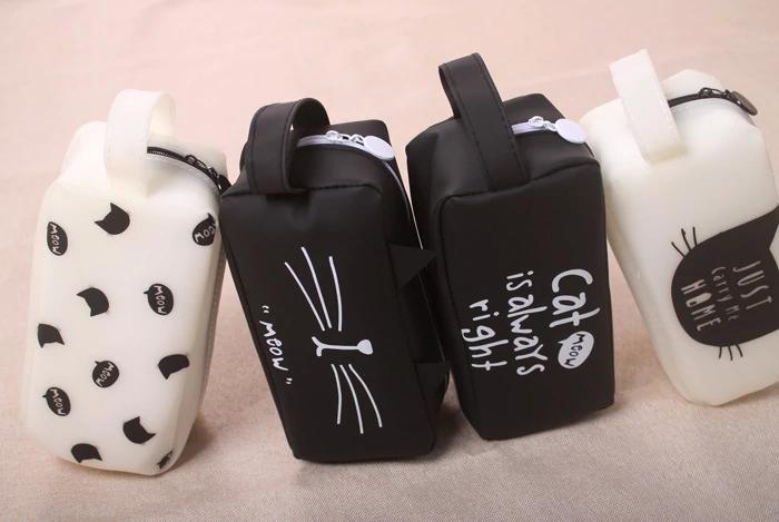 Necessaire / Estojo de Gatinho Meow - Com diversas opções de estampas. Você vai amar essas orelhinhas e bigodes!