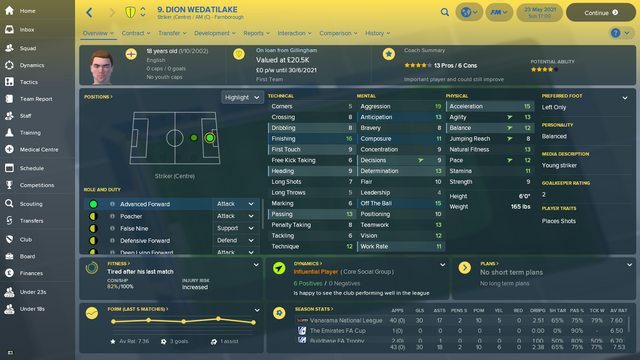 Dion Wedatilake Overview Profile 2