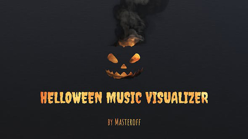 Halloween Music Visualizer 33957632 - Project for After Effects (Videohive)