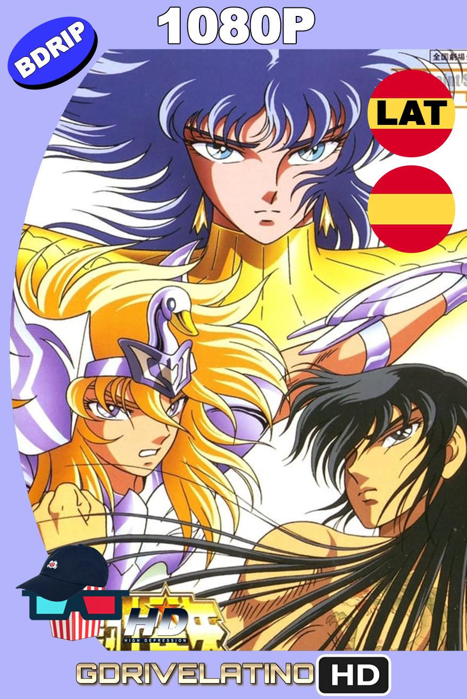 Saint Seiya: Los Caballeros del Zodiaco contraatacan (1988) BDRip 1080p Latino-Castellano-Japonés MKV