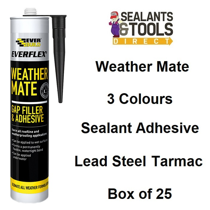 Everbuild All Weather Mate Sealant WeatherMate - Box of 25