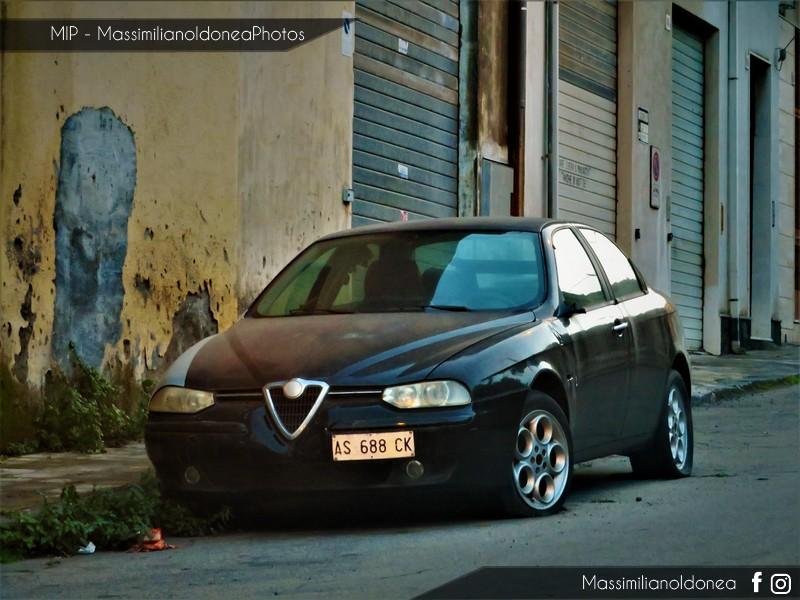 Auto Abbandonate - Pagina 10 Alfa-Romeo-156-Twin-Spark-1-6-120cv-28-NOVEMBRE-97-AS688-CK-1