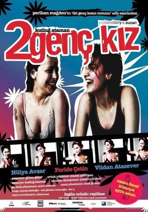 2 Genç Kız | 2005 | Yerli Film | 720p | DVDRip | Upscale | Sansürsüz | 900 MB | Tek Link