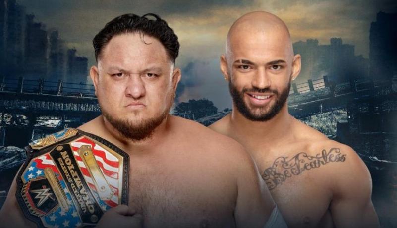 Samoa Joe vs Ricochet