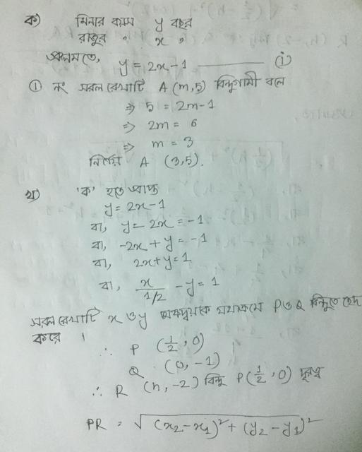 SSC Higher Math 4th Week Assignment