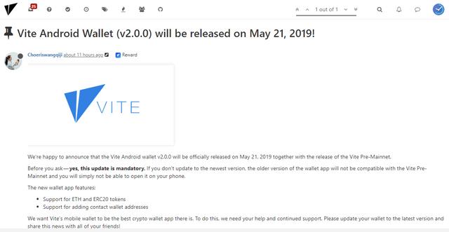 OPORTUNIDADE [Provado] Vite Wallet - Nova carteira com tokens Gratis - Android/iOS - (Actualizado em Junho de 2019) - Página 2 Vitwapp