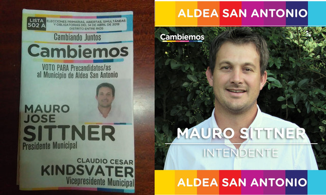 Elecciones 2019: ``Somos gente que nació y se crió en la Aldea, tenemos que hacer valer la localía´´