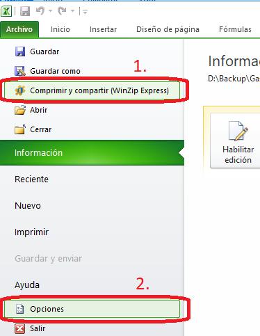 Error WinZipExpressForOffice